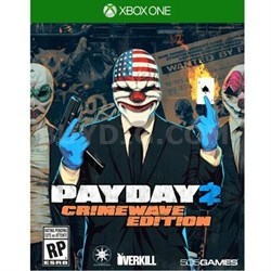 Payday 2 Crimewave  XOne