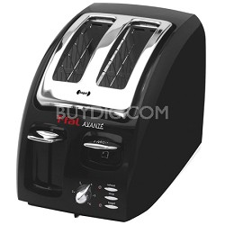 Classic Avante 2-Slice Toaster with Bagel Function, Black - 8746002