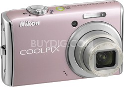 COOLPIX S620 Digital Camera (Dusty Pink)