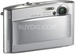 Cyber-shot DSC-T5 Digital Camera - Silver (after holiday sale)