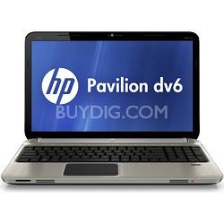 """Pavilion 15.6"""" DV6-6C16NR Entertainment Notebook - Intel Core i7-2670QM Proc."""