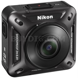 KeyMission 360 4K Ultra HD Action Camera with Built-In Wi-Fi