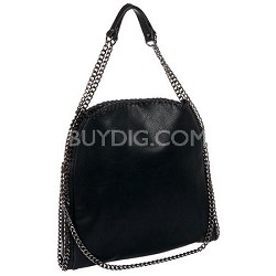 Totally Chain Tote Bag (Black)