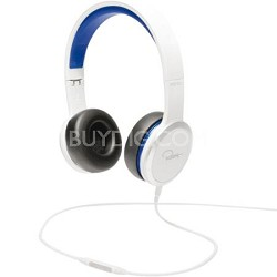 Chambers by RZA Street On-Ear Headphones - White/Blue