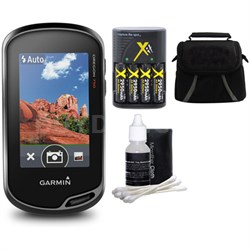 Oregon 750 Handheld GPS with Built-In Wi-Fi, Camera & Bluetooth Bundle