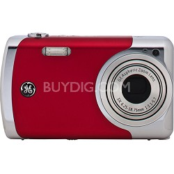 Create by Jason Wu 12MP Red Digital Camera with 3x Optical Zoom