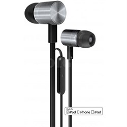 iDX 200 iE Premium In-Ear Headphones, Black/Silver