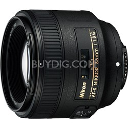 85mm f/1.8G AF-S NIKKOR Lens for Nikon Digital SLR Cameras - OPEN BOX