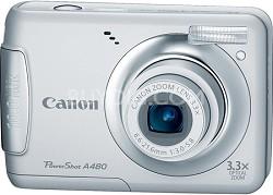PowerShot A480 10MP Digital Camera (Silver)
