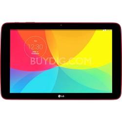 "G Pad V 700 16GB 10.1"" WiFi Red Tablet - Qualcomm Snapdragon 1.2 GHZ Processor"