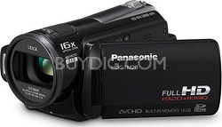 HDC-TM20K - 16x HD Camcorder 16GB flash memory/SD (Black) - REFURBISHED