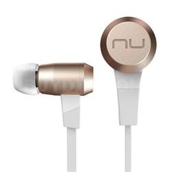 Superior Sounding Wireless Bluetooth Earphones - BE6 (Gold) - OPEN BOX