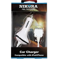 Car Charger for iPod/iPad/iPhone 4/4S