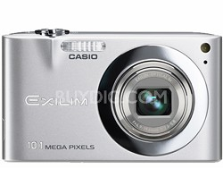 "Exilim EX-Z100 10.1MP Digital Camera with 2.7"" LCD (Silver)"