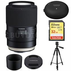 SP 90mm f/2.8 Di VC USD 1:1 Macro Lens for Canon AFF017C-700 w/ Lens Mount Kit