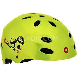 V17 Childrens Ages 5 - 8 Helmet - Gloss Green