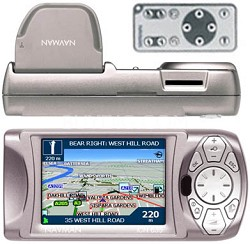 iCN 635 Transferable In-car Navigation System w/3.8in Screen and Remote