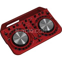 Pro DJ DDJ-WeGO2 DJ Controller - Red