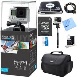 HERO 4 Black - 4K Action Camera Ultimate Kit