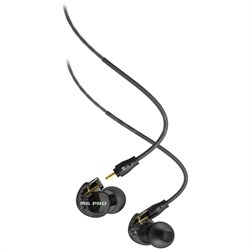 M6 Pro Universal-Fit Noise-Isolating Musician's In-Ear Monitors - Smoke