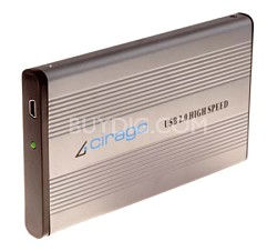 CST1160 160GB Ultra-Slim USB 2.0 Plug and Play External Hard Drive