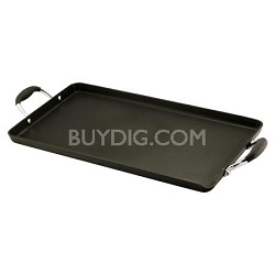 Advanced Hard Anodized Nonstick 18-by-10-Inch Double Burner Griddle