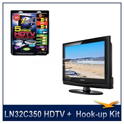 LN32C350 HDTV + High-performance HDTV Hook-up & Maintenance Kit