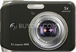"""A950 9.1MP 2.5"""" LCD 5x Zoom Digital Camera (Black)"""