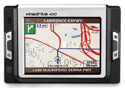 Fine Drive 400 Portable in-car navigation system
