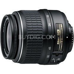 18-55mm f/3.5-5.6G ED II AF-S DX Nikkor Zoom Lens Factory Refurbished