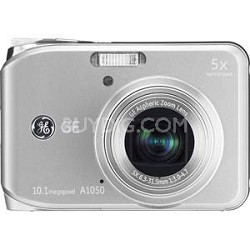 "A1050 10.1MP 2.5"" LCD 5x Zoom Digital Camera (Silver)"