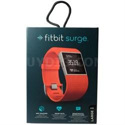 "Surge Fitness Superwatch, Tangerine, Large (6.3-7.8"") - OPEN BOX"