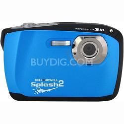 "Splash II 16MP Waterproof Digital Camera 2.5"" LCD HD Video (Blue)(WP16-BL)"