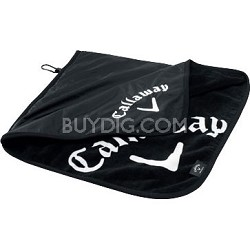 Black 5409016 20 x 20 Rainhood Towel