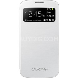 Galaxy S IV S-view Flip Cover White