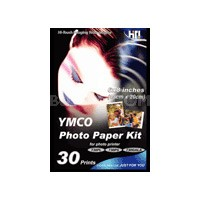 """6"""" X 8"""" Photo Paper - 30 Sheets and Ribbon Cartridge for 730PS"""