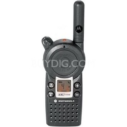 CLS1410 5-Mile 4 Channel UHF Two-Way Radio - Black