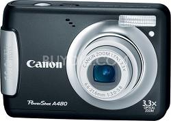 PowerShot A480 10MP Digital Camera (Black)