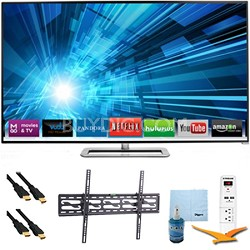 80-Inch 1080p 240Hz Smart LED HDTV Plus Tilt Mount & Hook-Up Bundle - M801i-A3