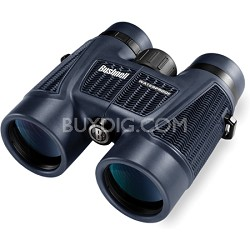 H2O Waterproof/Fogproof Roof Prism Binocular, 8 x 42-mm, Black