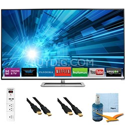 47-Inch 1080p 120Hz Smart Razor LED HDTV Plus Hook-Up Bundle - M471I-A2