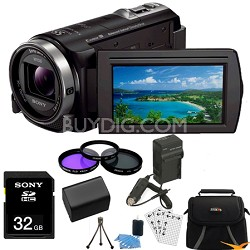 HDR-CX430V 32GB Full HD Flash Memory Camcorder Essentials Bundle