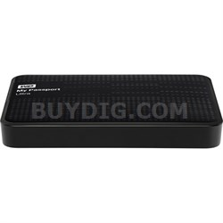 My Passport Ultra 2 TB USB 3.0 Portable Hard Drive Black - Refurbished
