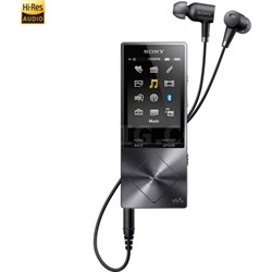 NWA26HN 32GB Hi-Res Walkman Digital Music Player with Noise Cancelation - Black