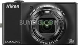 COOLPIX S8000 14.2 Megapixel Digital Camera (Black)