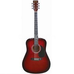 LA125BR Dreadnought Acoustic Guitar - Brownburst