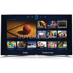 UN65F8000 - 65 inch 1080p 240hz 3D Smart Wifi LED HDTV - OPEN BOX