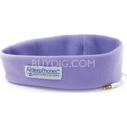 SleepPhones Lavender One Size Fits Most