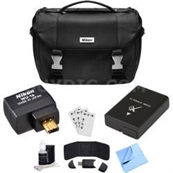 WU-1a Wireless Wi-Fi Adapter Pro Bundle for D3200 D3300 D5200 DSLRs REFURBISHED
