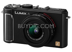 DMC-LX3K 10 MP Digital Camera with 2.5x Optical Zoom (Black)